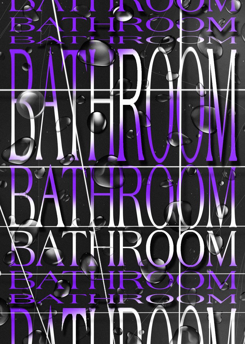 François_Boulo_Blank_Poster_Bathroom