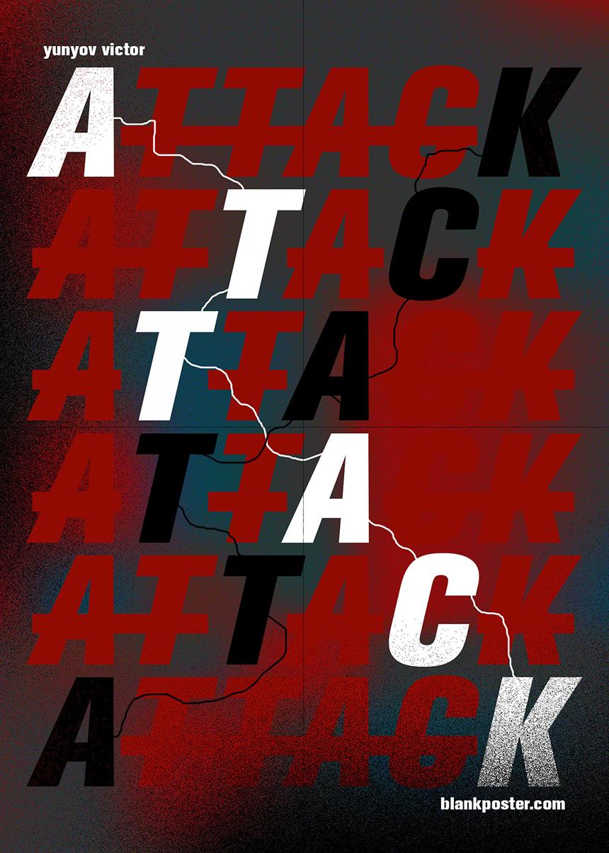 Victor_Yunov_Blank_Poster_Attack