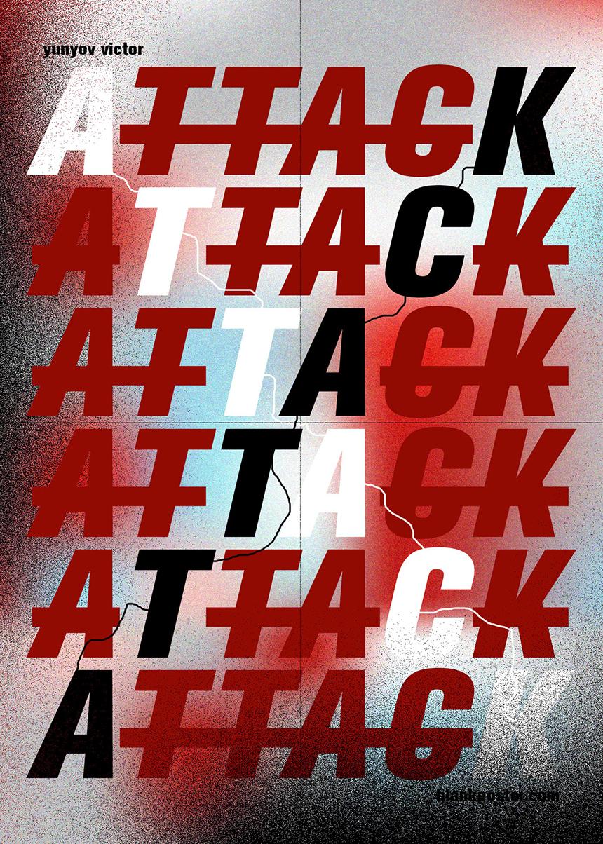 Victor_Yunov_Blank_Poster_Attack2